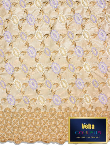 Veba Couleur Brocade Lace in 5 Yards VCBL0111 - NEW!