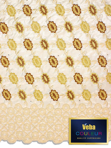 Veba Couleur Brocade Lace in 5 Yards VCBL0112 - NEW!