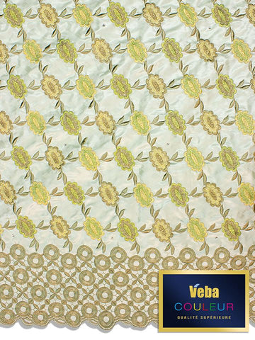 Veba Couleur Brocade Lace in 5 Yards VCBL0113 - NEW!