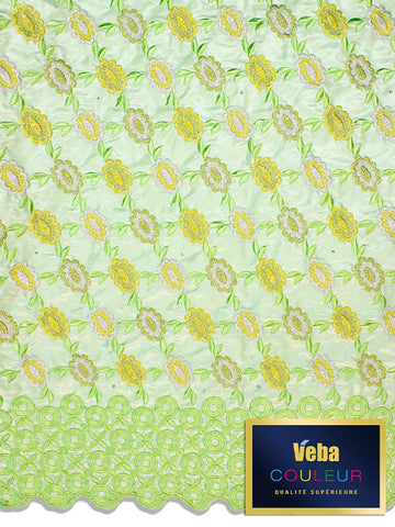 Veba Couleur Brocade Lace in 5 Yards VCBL0114 - NEW!