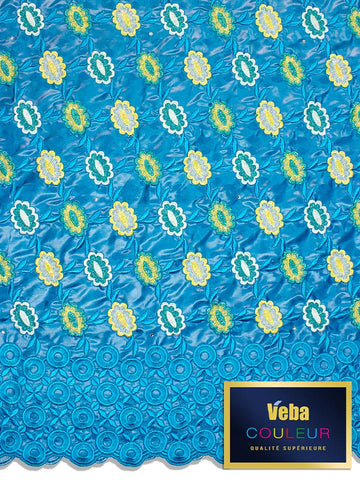 Veba Couleur Brocade Lace in 5 Yards VCBL0116 - NEW!
