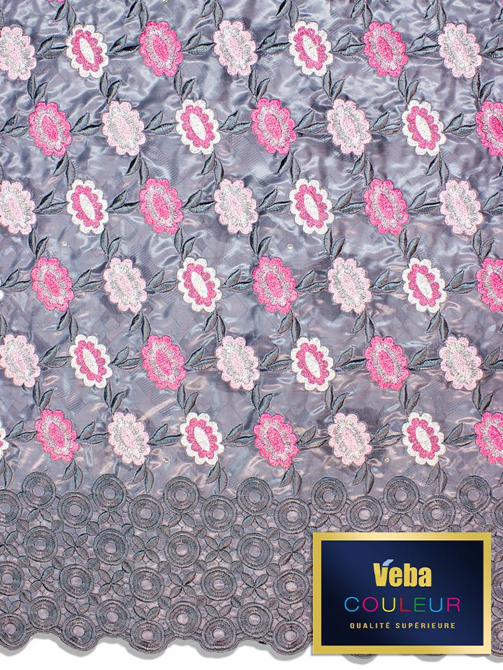 Veba Couleur Brocade Lace in 5 Yards VCBL0120 - NEW!