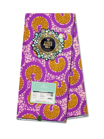 Vlisco Bubble Wax Cotton Poplin - NEW! VBW0030-CP