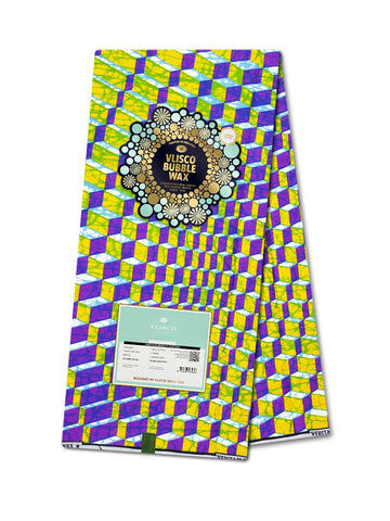 Vlisco Bubble Wax Cotton Poplin - NEW! VBW0035-CP