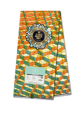 Vlisco Bubble Wax Cotton Poplin - NEW! VBW0037-CP