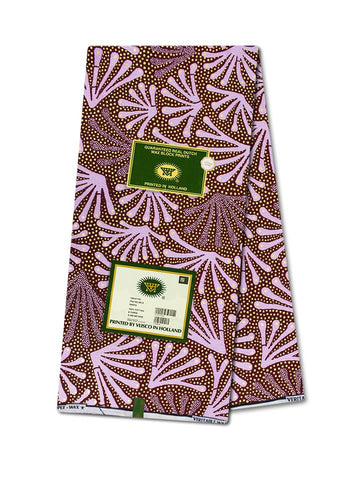 Vlisco Cotton Satin Gold Embellished VLCS462  -  NEW!