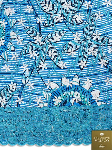 Vlisco Exclusive with Lace Embroidery: VL567