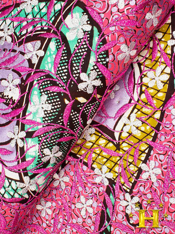 Vlisco Exclusive with Lace Embroidery: VL571