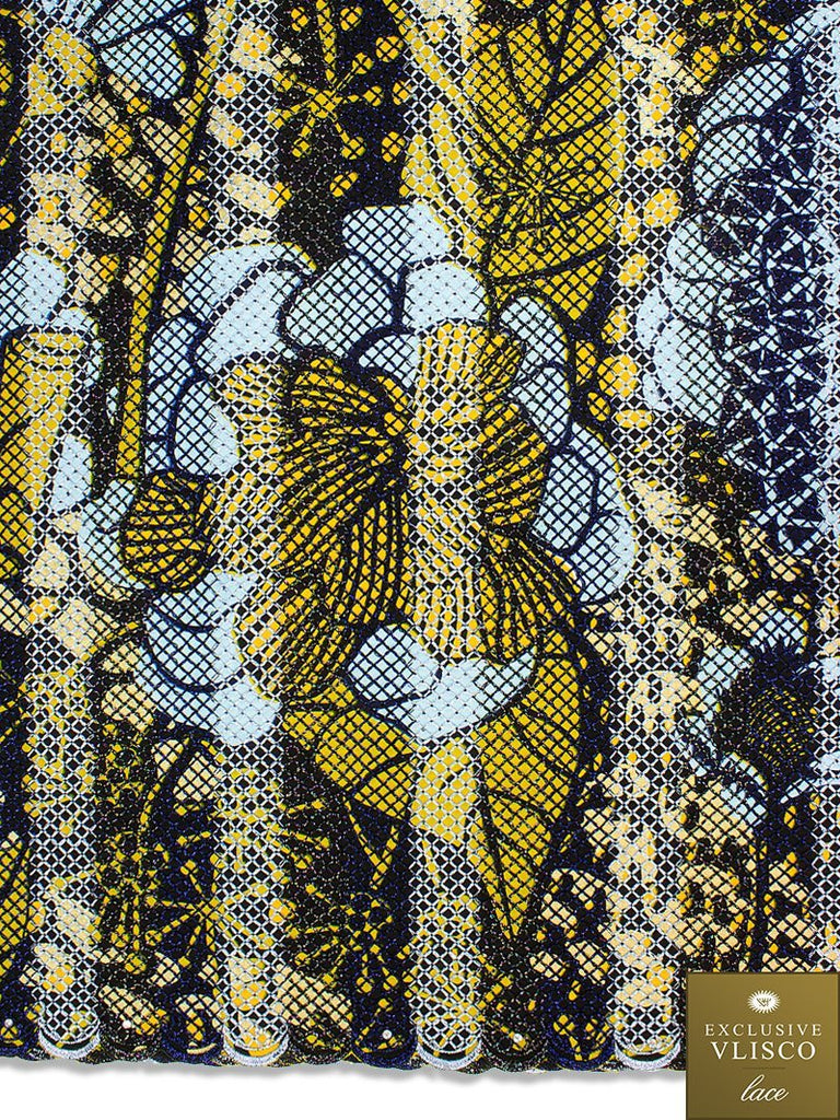 Vlisco Exclusive with Lace Embroidery: VL583