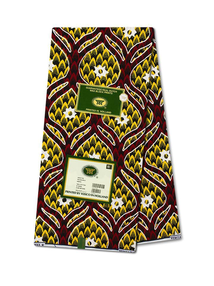 Vlisco Hollandais Gold Edition 143 - Cotton Satin NEW!