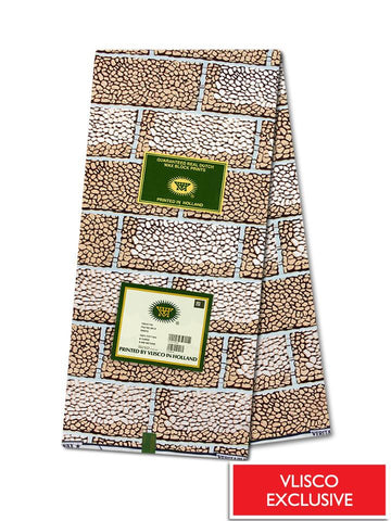 Vlisco Hollandais Gold Exclusive VHWLE107- NEW!