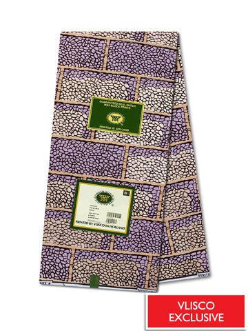Vlisco Hollandais Gold Exclusive VHWLE109- NEW!