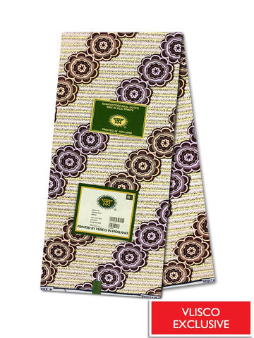 Vlisco Hollandais Gold Exclusive VHWLE112- NEW!