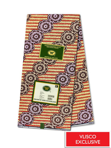 Vlisco Hollandais Gold Exclusive VHWLE113- NEW!