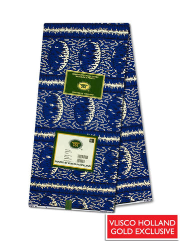 Vlisco Hollandais Gold Exclusive VHWLE131- NEW!