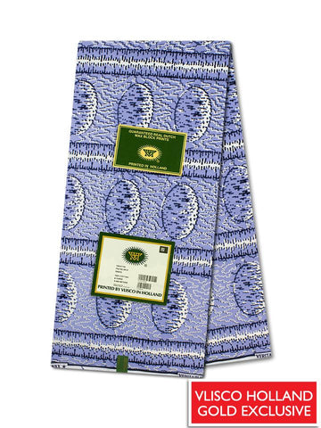 Vlisco Hollandais Gold Exclusive VHWLE136- NEW!