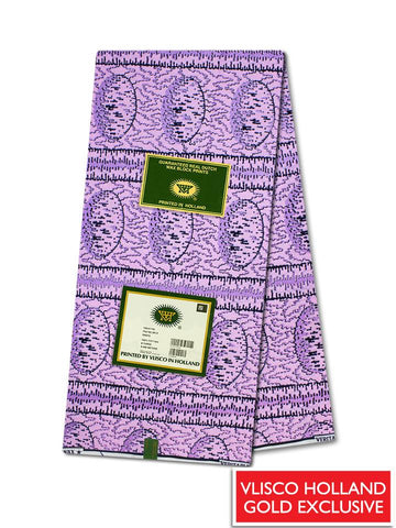 Vlisco Hollandais Gold Exclusive VHWLE137- NEW!