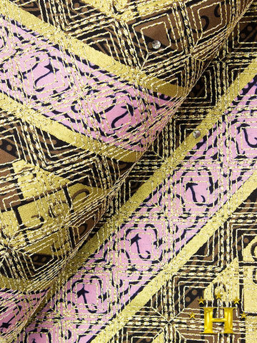 VLISCO LACE - Vlisco Super Wax with Lace Embroidery: VL330