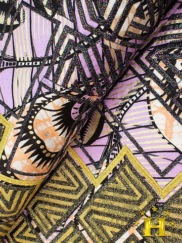 VLISCO LACE - Vlisco Super Wax with Lace Embroidery: VL413