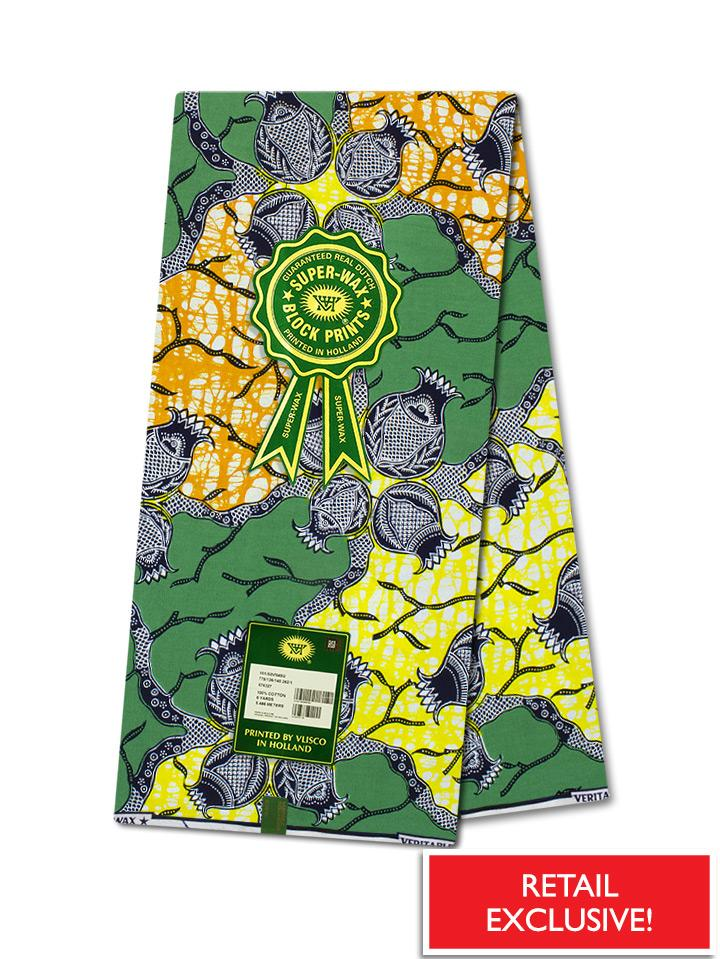 Vlisco Super Wax Collection VSW579 - RETAIL EXCLUSIVE
