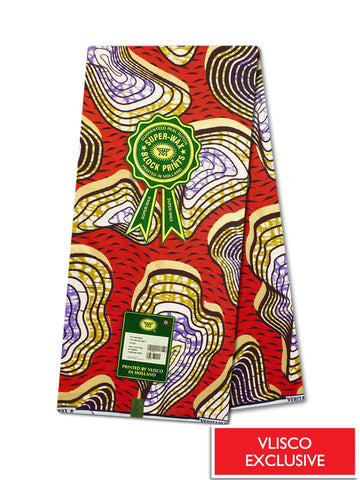 Vlisco Super Wax Gold Exclusive - VESW0210