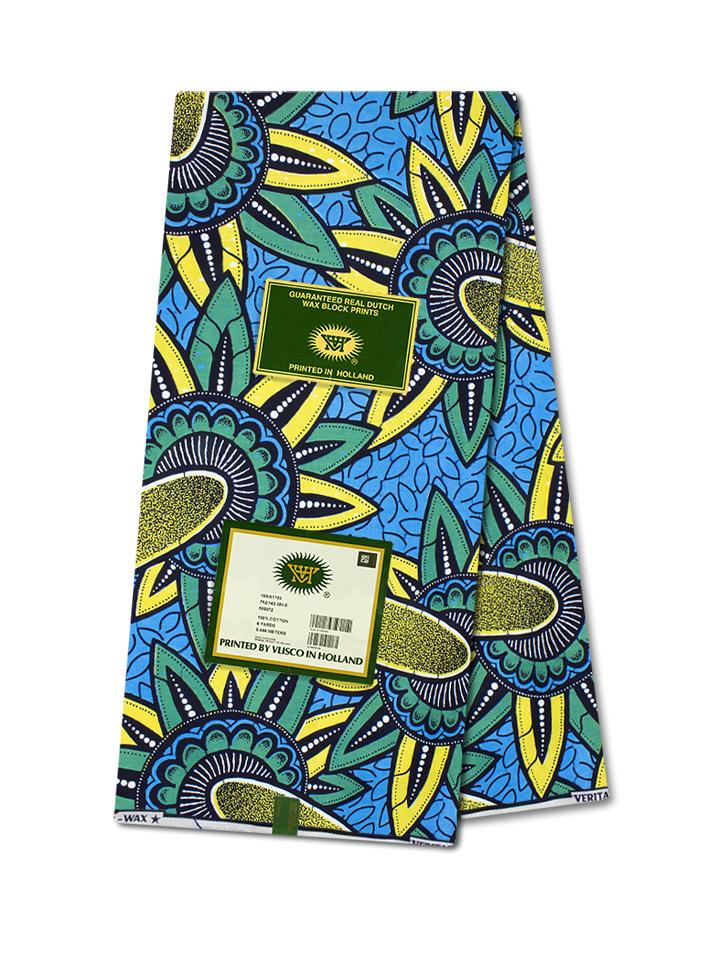 Vlisco Wax Hollandais Wax Print VH341 - NEW!