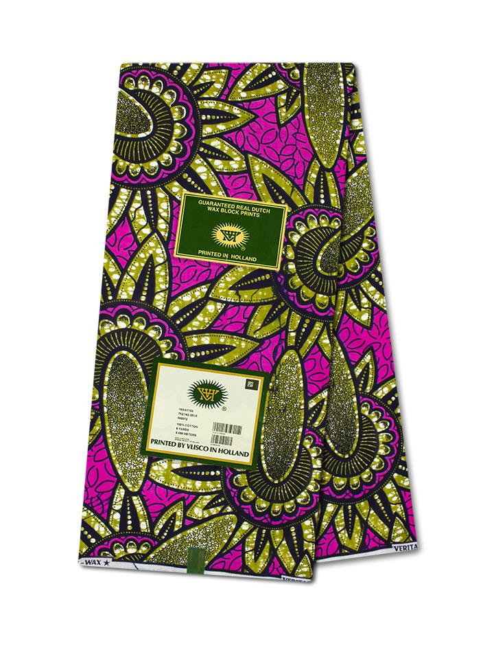 Vlisco Wax Hollandais Wax Print VH344 - NEW!