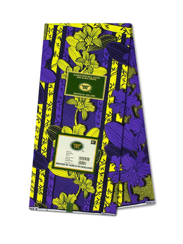 Vlisco Wax Hollandais Wax Print VH353 - NEW!