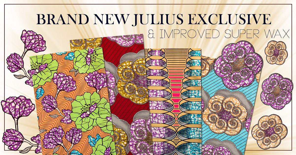 African Fabrics | Brand New Julius Holland Exclusive