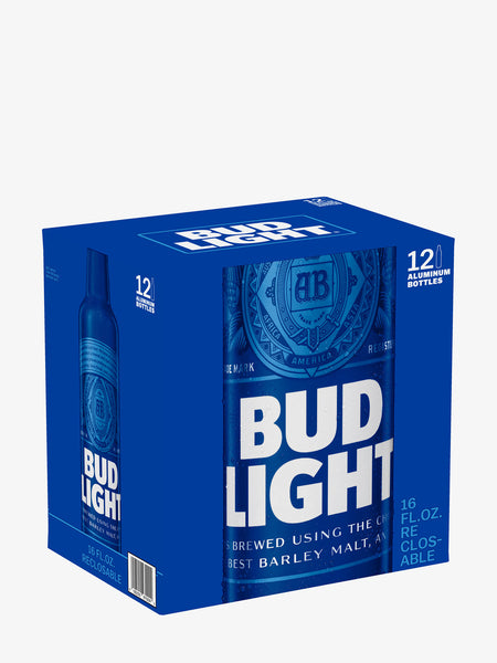 Bud Light Bottles 12 Pack