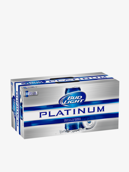 Bud Light Plantinum 18 Pack