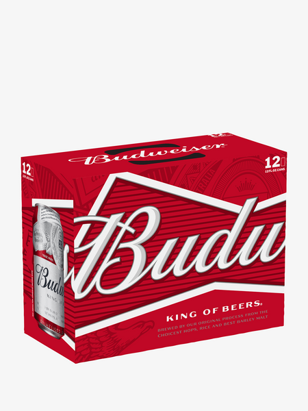 Budweiser American Lager 12 Pack Cans