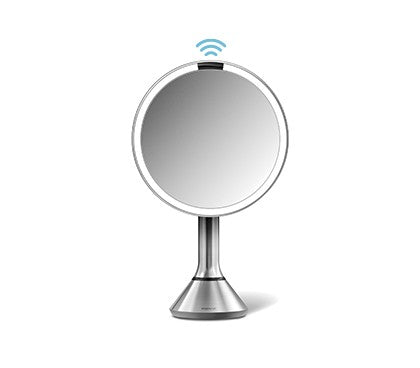 Simple Human Sensor Mirror 20cm- Bright Control - The Organised Store