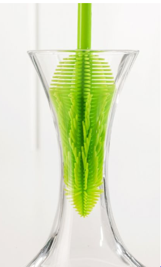 STAY CLEAN SILICONE BOTTLE BRUSH - The Organised Store