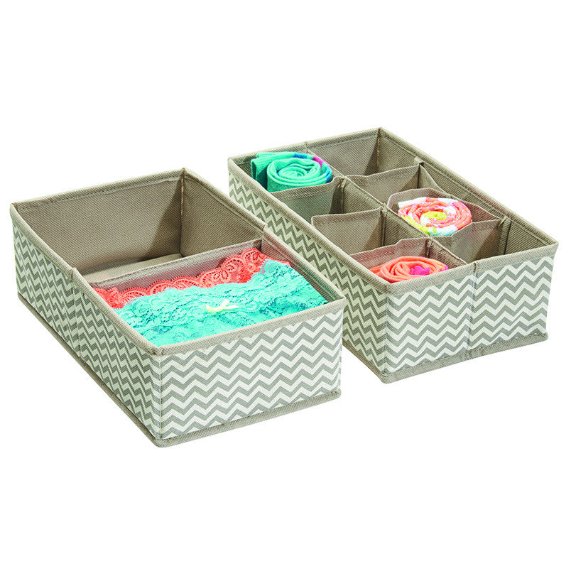 Axis Drawer Organizer 10S Set of Two - Chevron