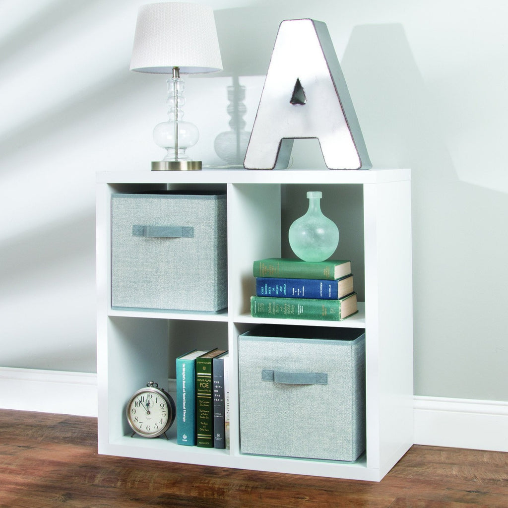 Axis Storage Cube Set of two - Grey - The Organised Store