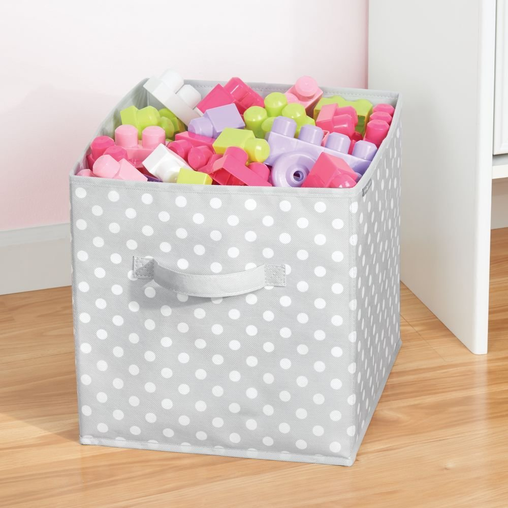 Fabric Storage Box Jr Large Cube