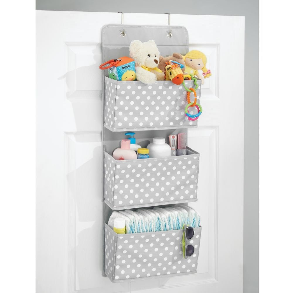 Fabric Over The Door Organizer Jr 3 Pockets