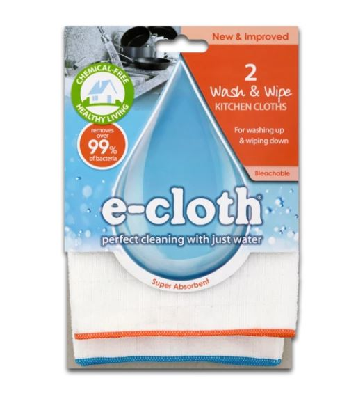 E-Cloth Wash & Wipe Kitchen Cloths - The Organised Store
