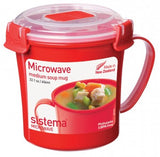 MICROWAVE Soup Mug 656ml - The Organised Store