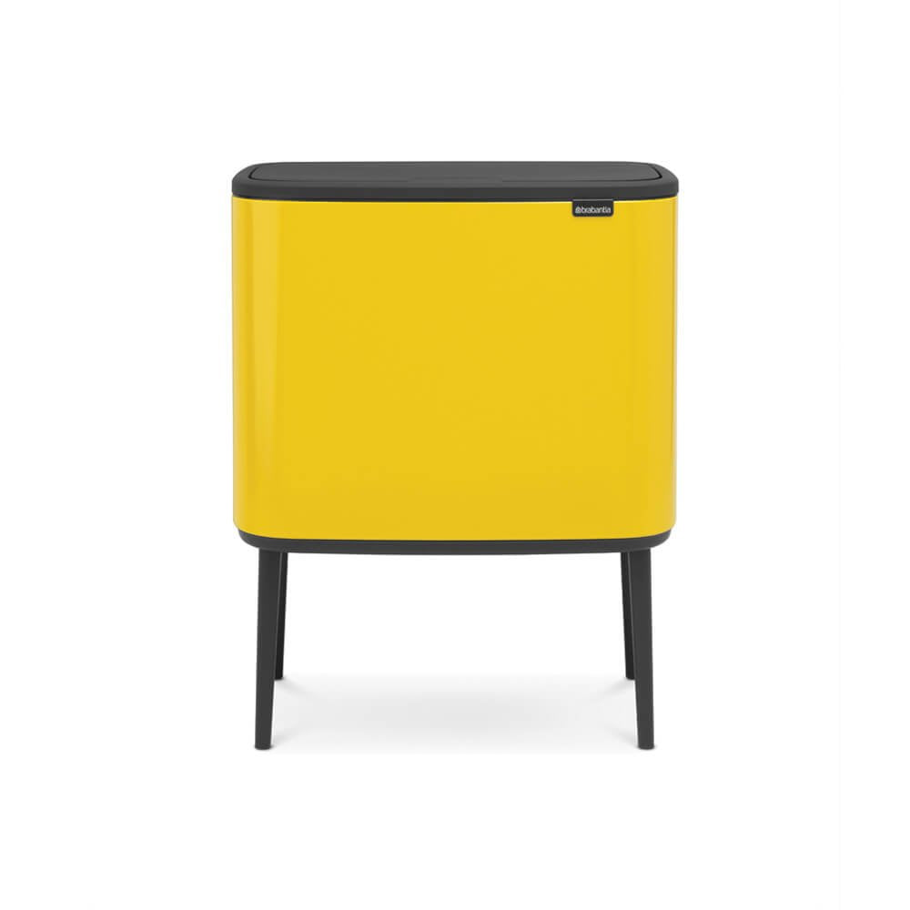 Bo Touch Bin With 2 Inner Buckets 11+23L - The Organised Store