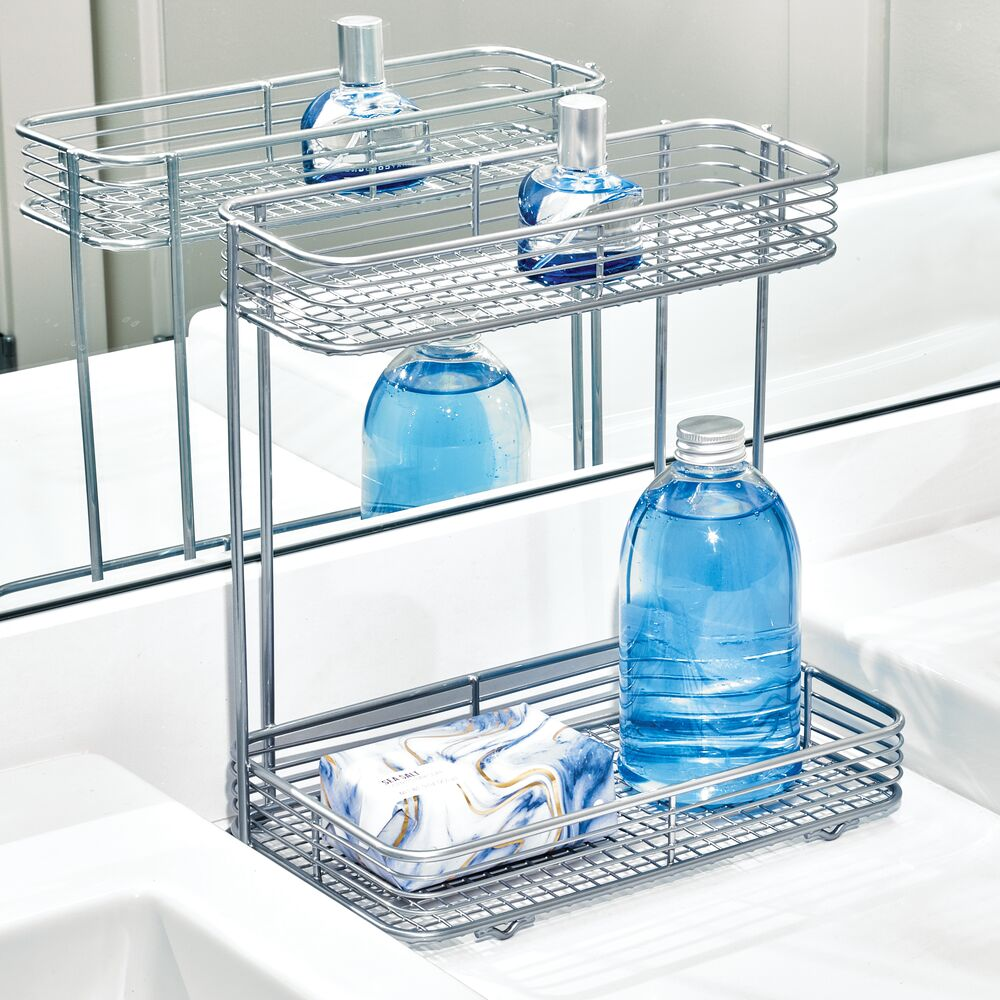 Vienna 2-Tier Rectangular Shelf - The Organised Store