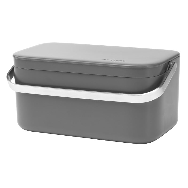 Food Waste Caddy - Mint or Grey - The Organised Store