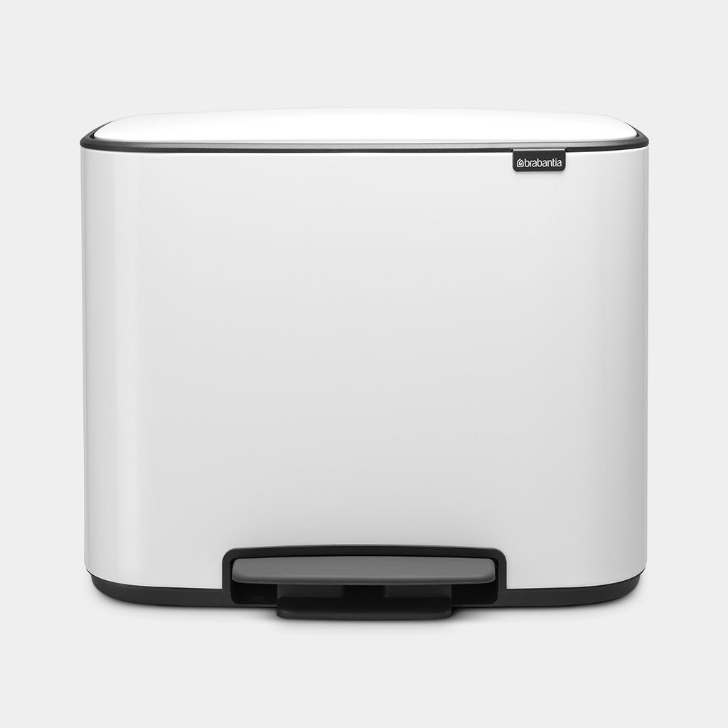 Bo Pedal Bin 11 + 23 litre - Various Colours