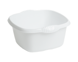 Casa 32cm Square Bowl White