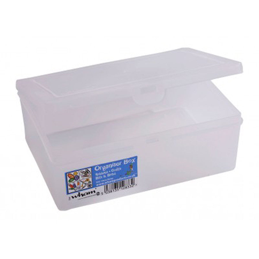 Organiser 19cm Deep Clear - The Organised Store