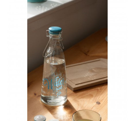 Glass Water Bottle -Water Drink Up 1L