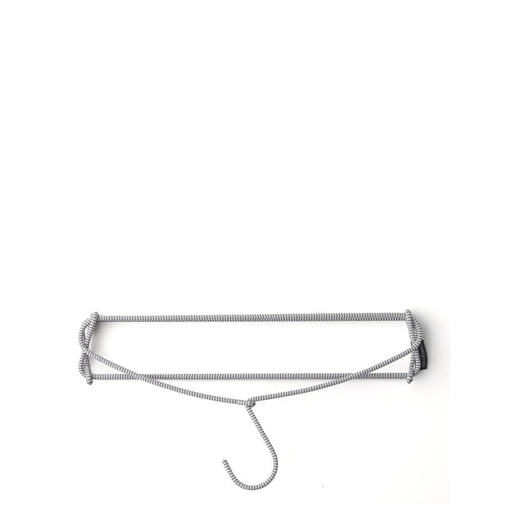 Soft Touch Trouser Hanger Dark Grey
