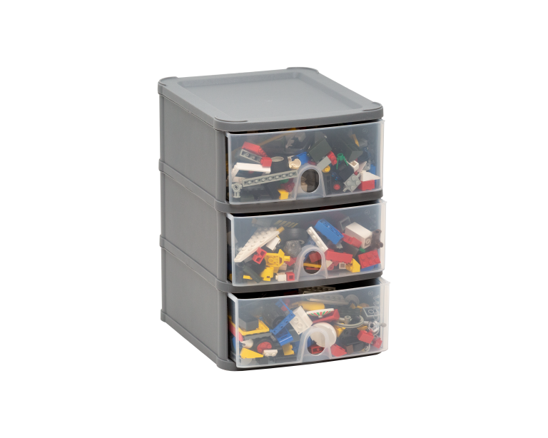 Handy 3 Drawer Tower