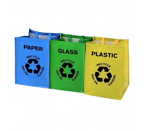 Echo Recycle Bags- Set of three